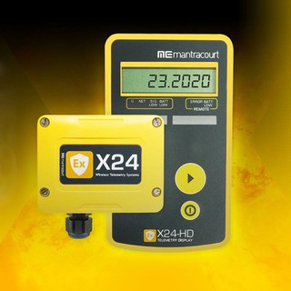 X24 – Intrinsically safe electronics, certified for ATEX / IECEx Zones 1 & 2